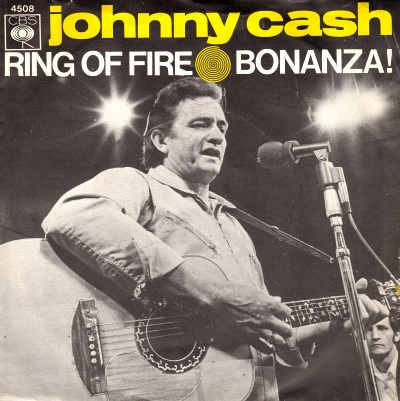 Johnny Cash Singles Discography / Database