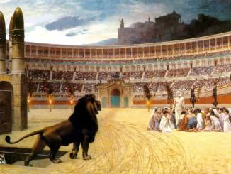Christians scapegoated and martyred by Rome