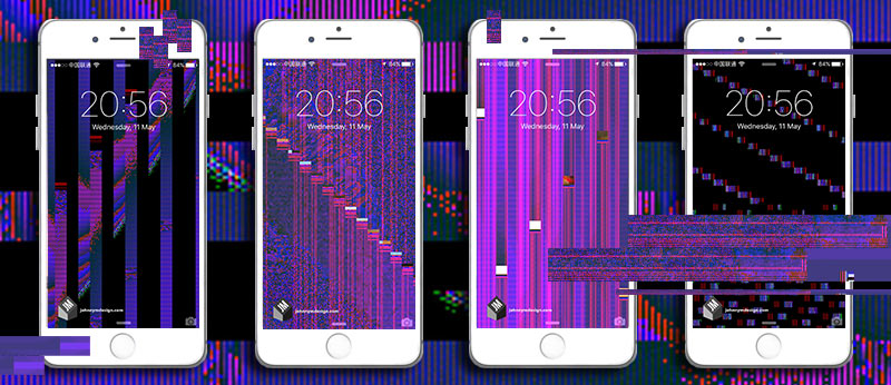 How To Get Old Iphone Wallpapers Back Glitch Phone Wallpapers Johnny Murphy Design