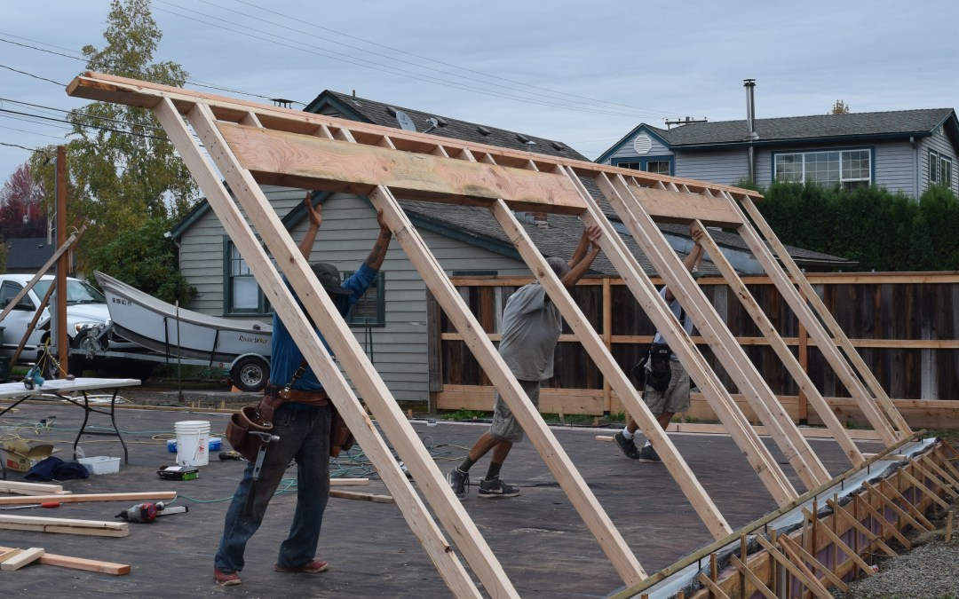 The Day of Walls: Our Net Zero Sukkah