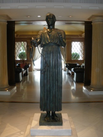 Statue Athens Hotel