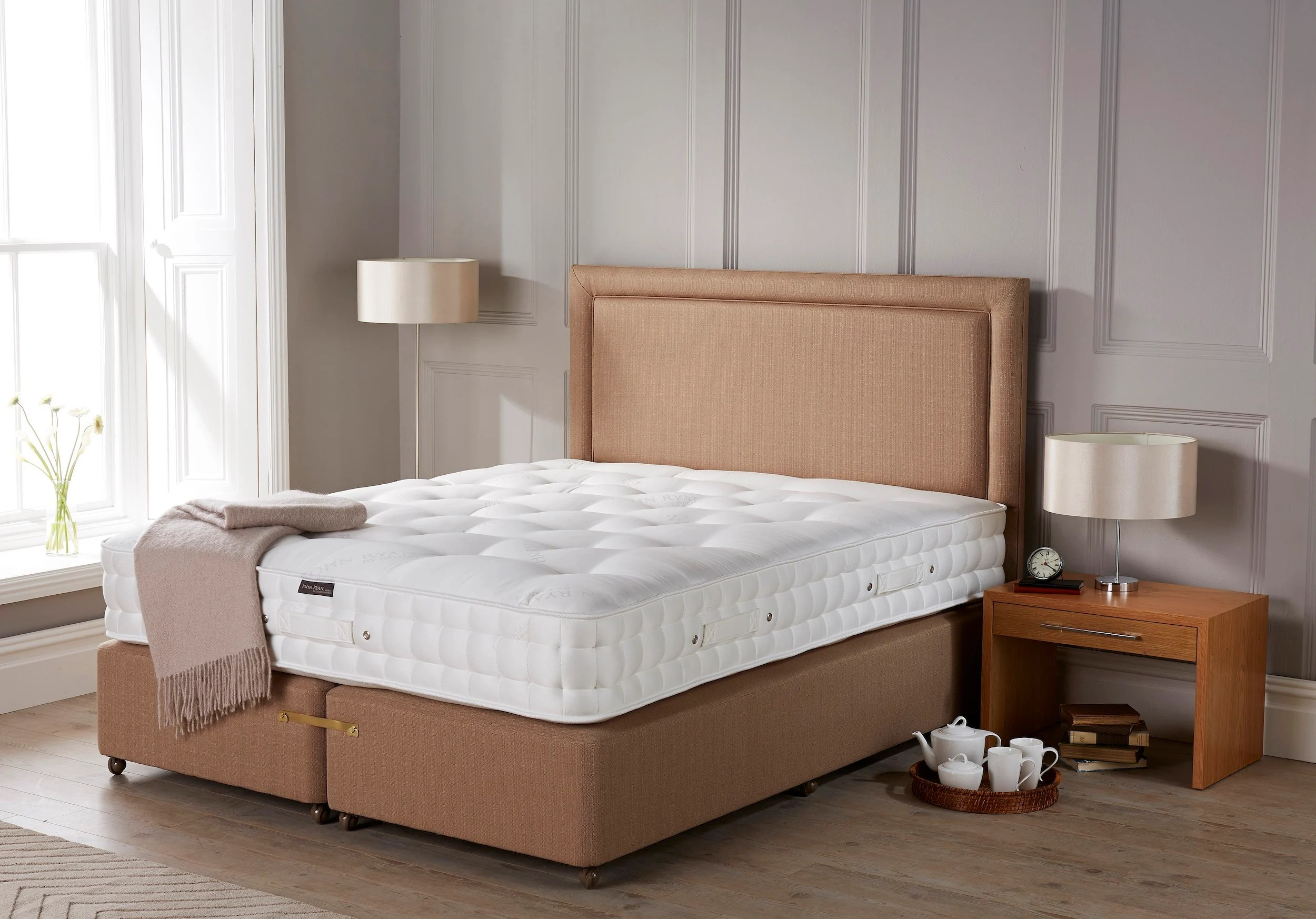 How Big Is A Super King Bed All About Zip And Links Beds Mattresses John Ryan By Design