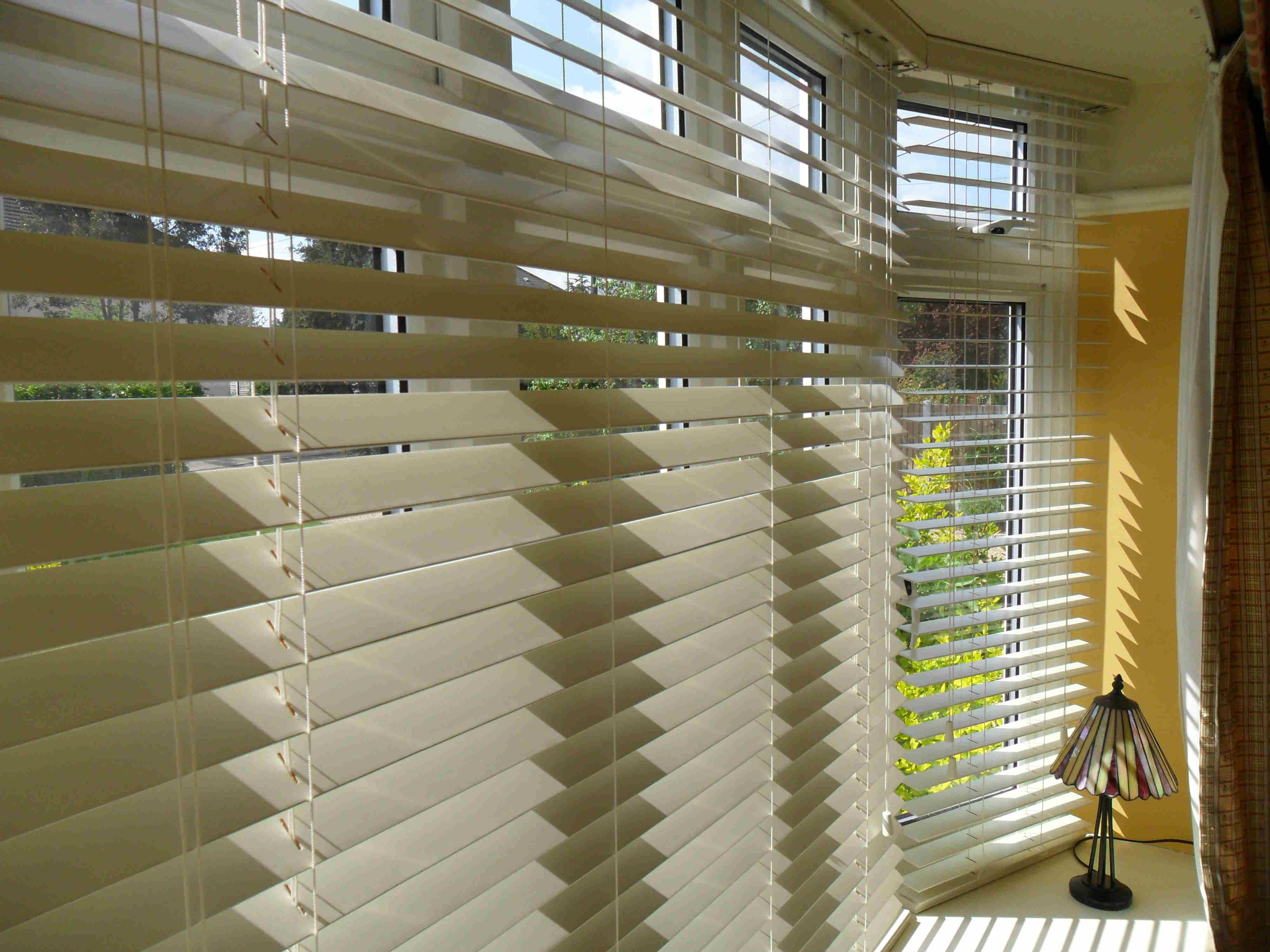 Roman Shades With Curtains Quality Wood Venetian Slatted Blinds Beautifully Made For