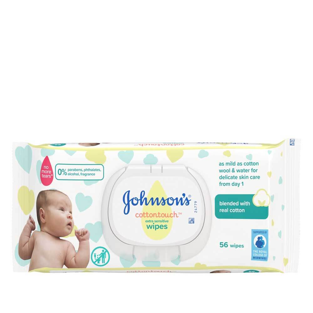 Newborn Babies Eat How Much Cottontouch™ Baby Wipes Johnson's® Baby Uk