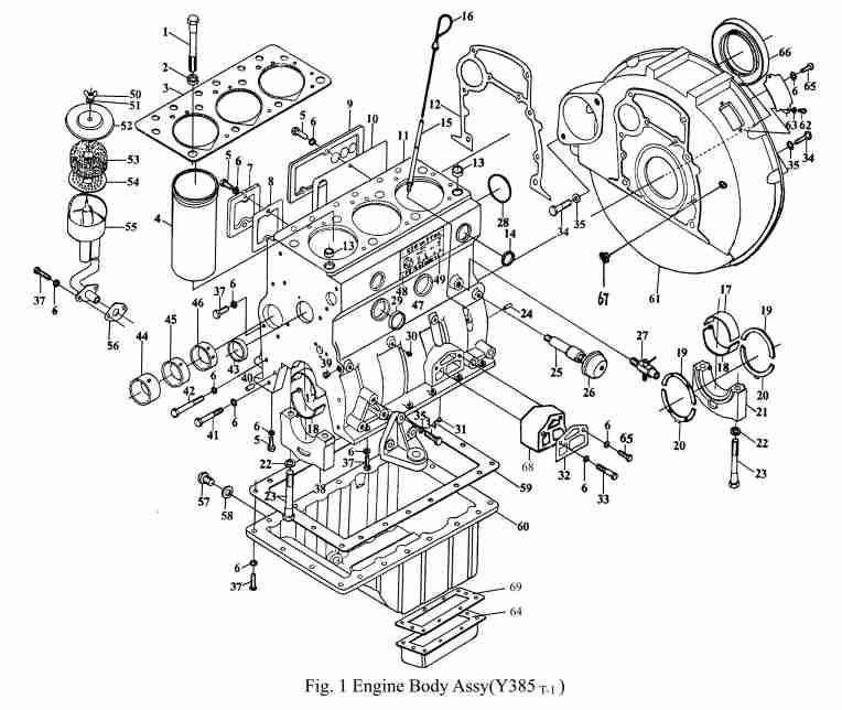 Jinma 354 engine diagram oil leak -- Jinma Farmpro Agracat -- Page 1