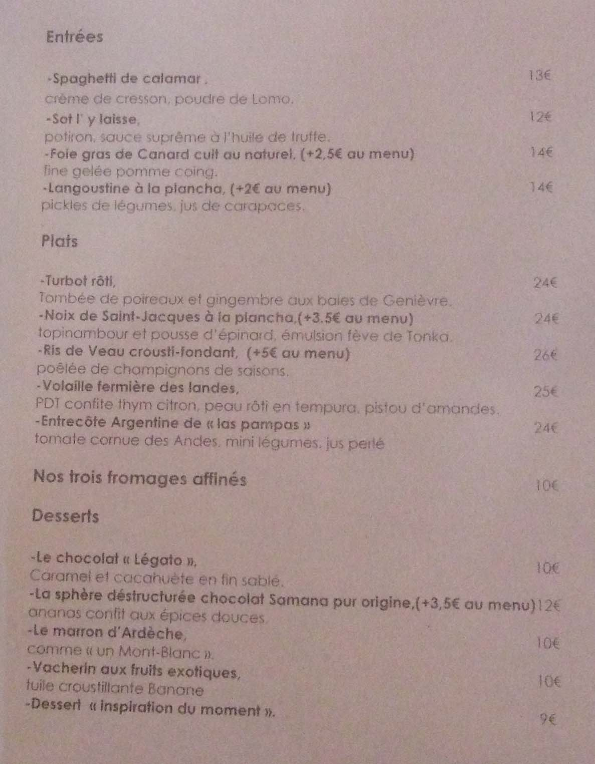 Neva Cuisine Paris John Talbott S Paris Neva Cuisine In The 8th Continuing
