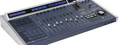 Mixing control surface