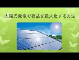 太陽光発電で収益を最大化する方法 #太陽光発電 #エコ #followme
