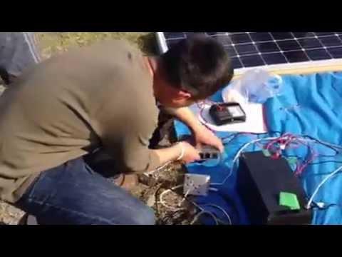 幡多自然エネルギー研究会「独立型ソーラー発電キット」 #太陽光発電 #エコ #followme