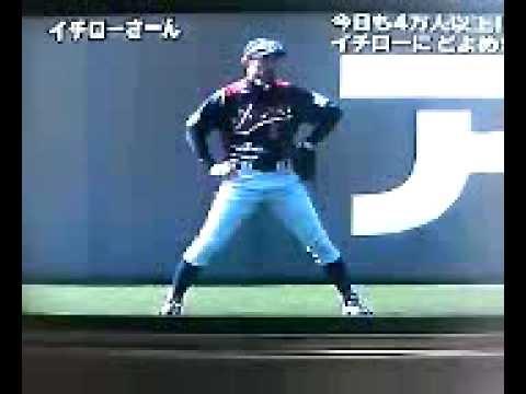 WBC宮崎合宿イチローさん!世界で一番尊敬しています! #スポーツニュース #followme