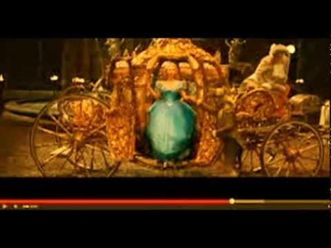 実写版「シンデレラ」 豪華絢爛な予告公開 #ディズニー #Disney #followme