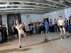 vintage bathing suit badminton contest