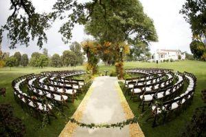 Organic Church Wedding