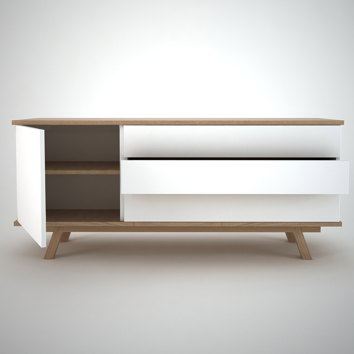 Side Board Ottawa Sideboard 1 433 White Join Furniture