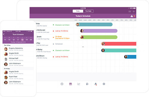 7 Simple Employee Scheduling Software Tools - employee shift schedules