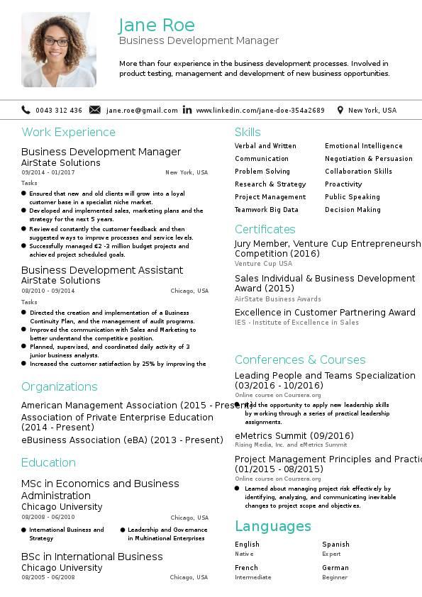 Join Jobs - business developer resume