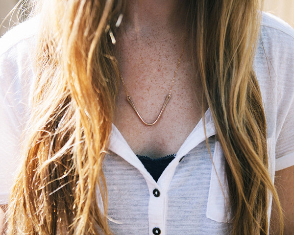 simple and modern jewelry by Consider the Wildflowers