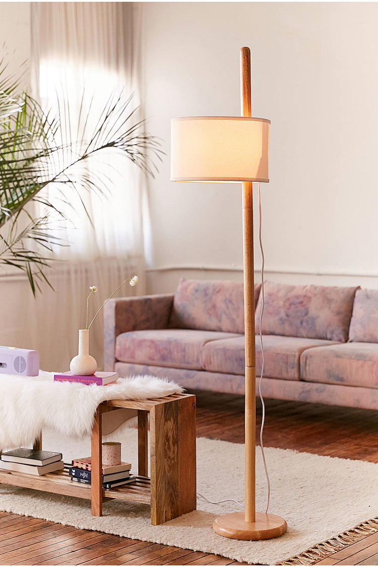 Small Arc Floor Lamp 25 Stylish Floor Lamps For Your Small Space Jojotastic