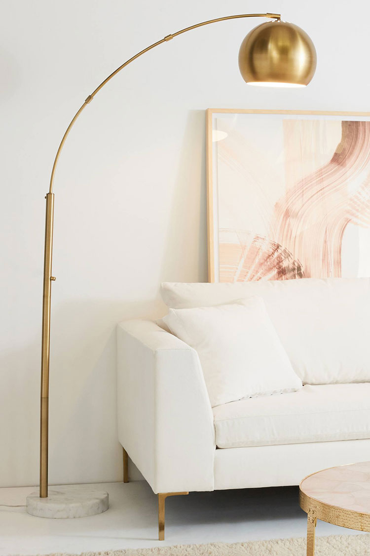 Floor Table Lamps My Epic Brass Lighting Round Up Table Lamps Sconces And More
