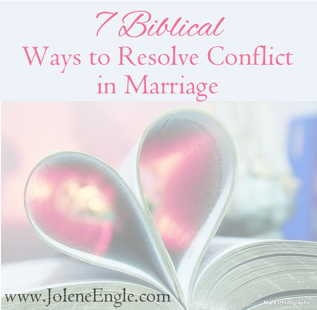 7 Biblical Ways to Resolve Conflict in Marriage...& a Link-Up!