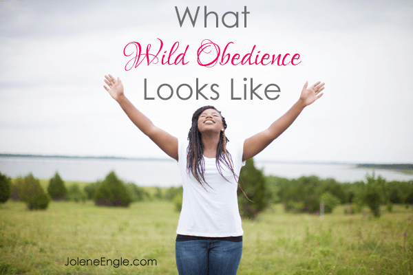What Wild Obedience Looks Like by Jolene Engle