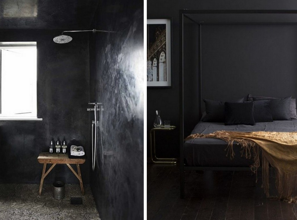 Noir Et Beige La Déco En Noir : Black Is The New Black - Joli Place