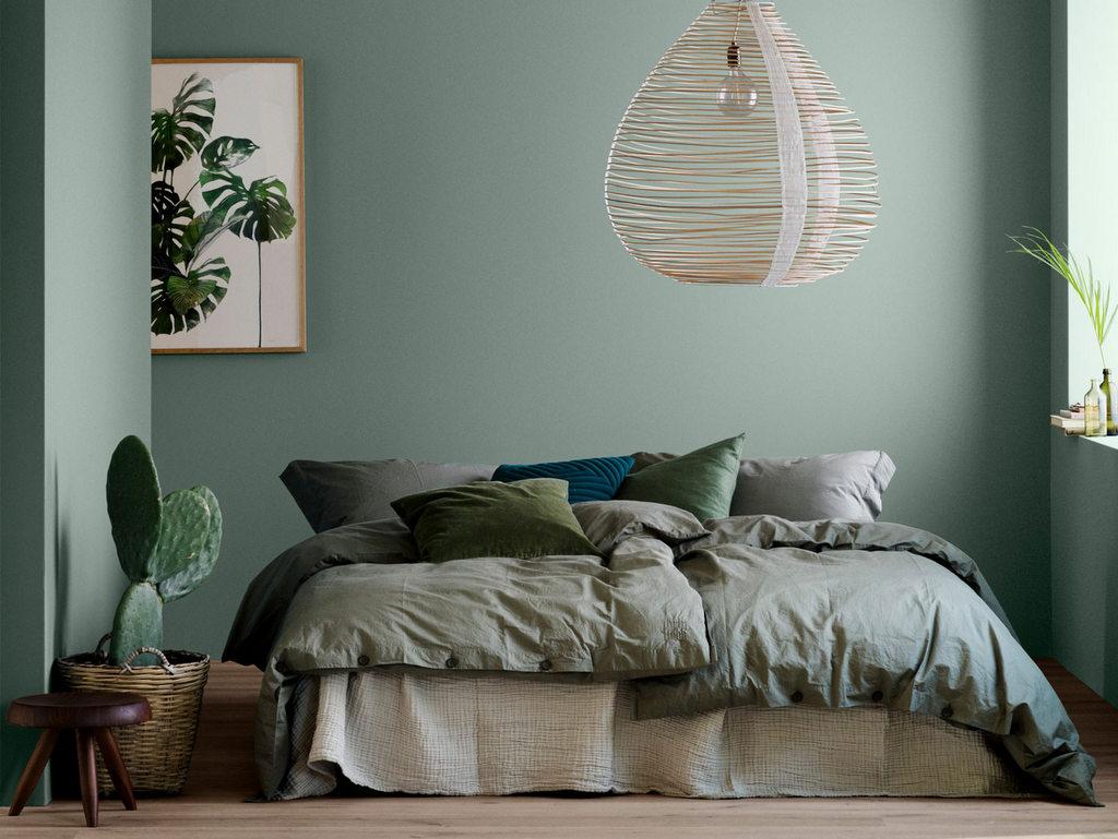 Idées Déco Pour Une Chambre Vert Sauge Joli Place