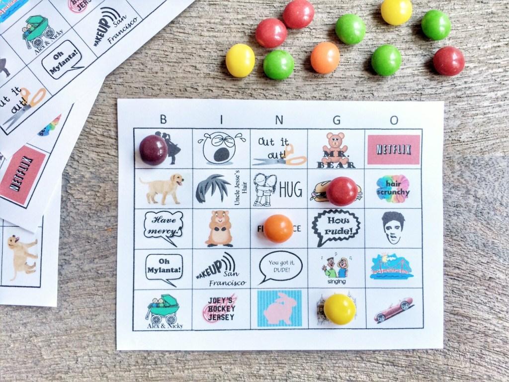 fuller house bingo