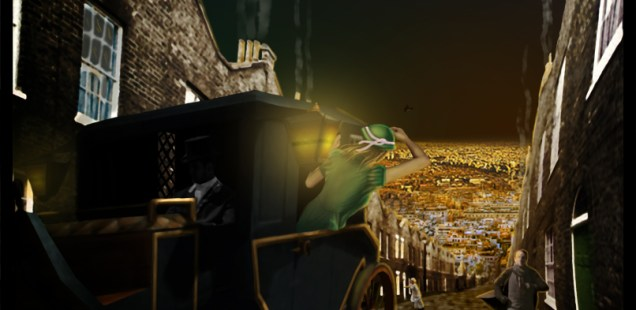 """Budapest Will Burn"", Illustration © 2011, Hayley ""Faelourn"" Millward"