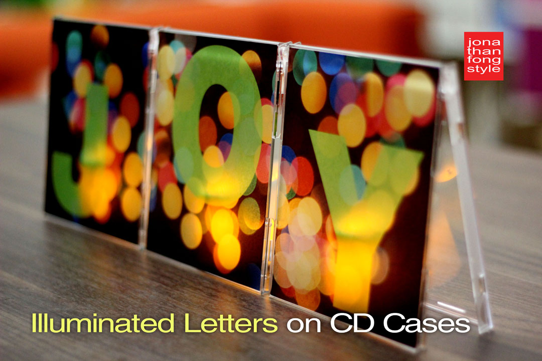 Illuminated Art on Upcycled CD Jewel Cases Handmade Holidays Blog