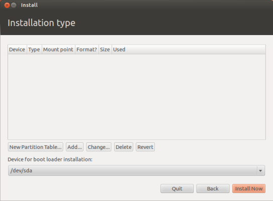 ubuntu desktop 12.04 installer not seeing any partitions on raid hard drive