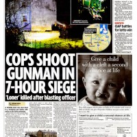Police Kill Gunman in 7-hour Siege - Daily Mirror - December 2010
