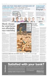 Mappleton bombs in the Daily Telegraph
