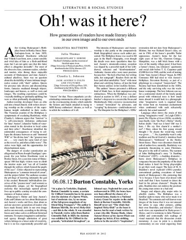 Moby Dick in the Times Literary Supplement