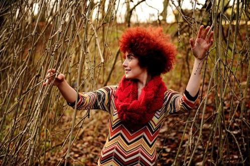 Stephanie Van Der Henst in Valley Gardens, Harrogate
