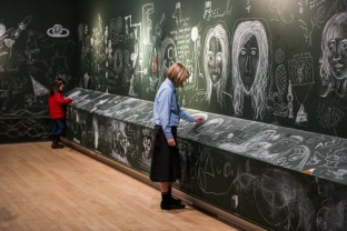 York Art Gallery opens walls to public vandalism before major renovations