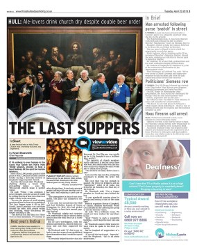 Hull Daily Mail - Last Suppers Story