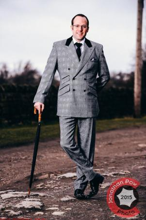 James Michelsberg of Michelsberg Tailoring