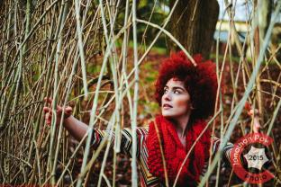 Model portfolio - Stephanie in Valley Gardens, Harrogate