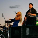Onstage with Leah Seawright
