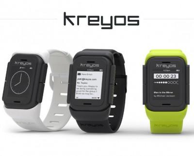 Kreyos Meteor smartwatches