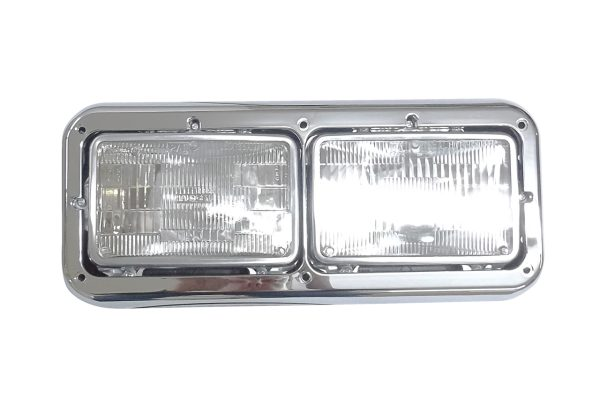 499-411075i Aftermarket Kenworth Dual Headlight Assembly Rectangular