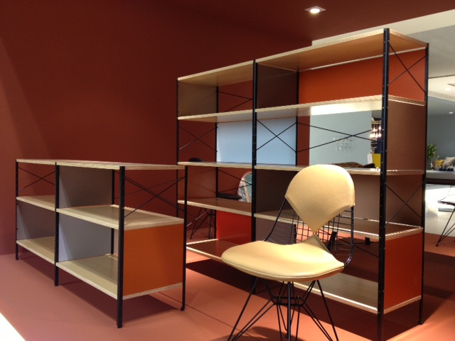 Eames Vitra Colour Palette For Charles And Ray Eames` Esu Shelves