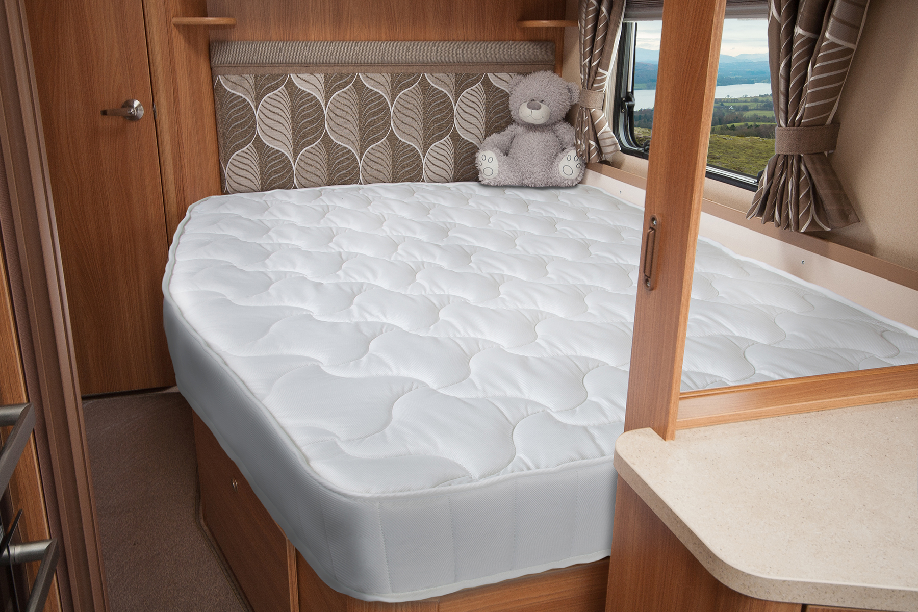 Caravan Mattress Prices Bailey Caravan Nearside Mattress Jonic Uk