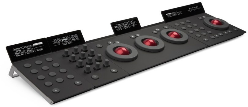 Tangent element colour grading control surface
