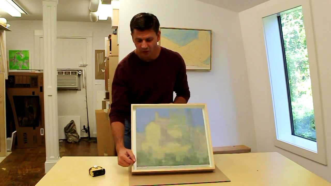 Unique A Painting By Artist Stuart Shils Making A Shadow Box Frame A Jersey How To Make A Shadow Box Out Making A Shadow Box Frame A Painting By Artist Stuart Shils How To Make A Shadow Box Paper photos How To Make A Shadow Box