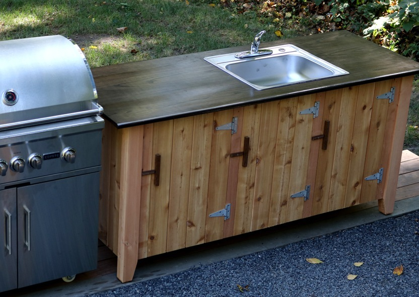 How To Build Outdoor Kitchen Cabinets How To Build An Outdoor Kitchen Cabinet | Jon Peters Art
