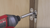 How to Hang Cabinet Doors with the Soss Invisible Hinge ...