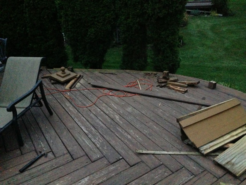 Remove Old Deck And Concrete Patio Replace With Stamped Concrete Patio Jon Pohlman