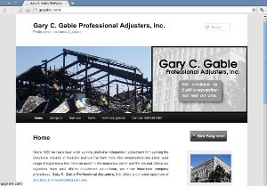 Gary C. Gable Professional Adjusters, Inc. Web Site